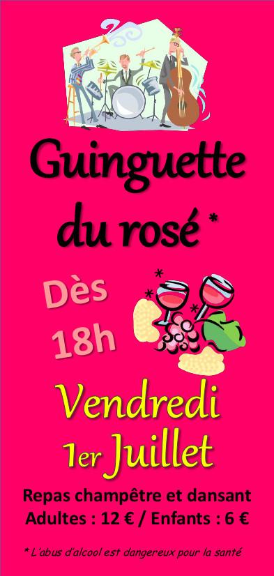 Guinguette du rosé